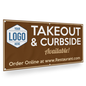 Custom Take Out Banner